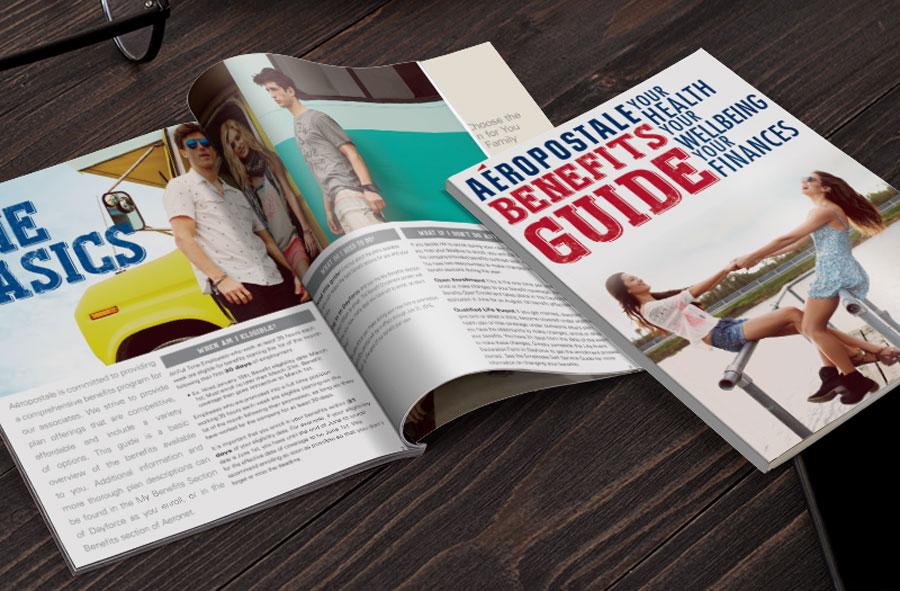 Aeropostale Freelance Magazine Designer